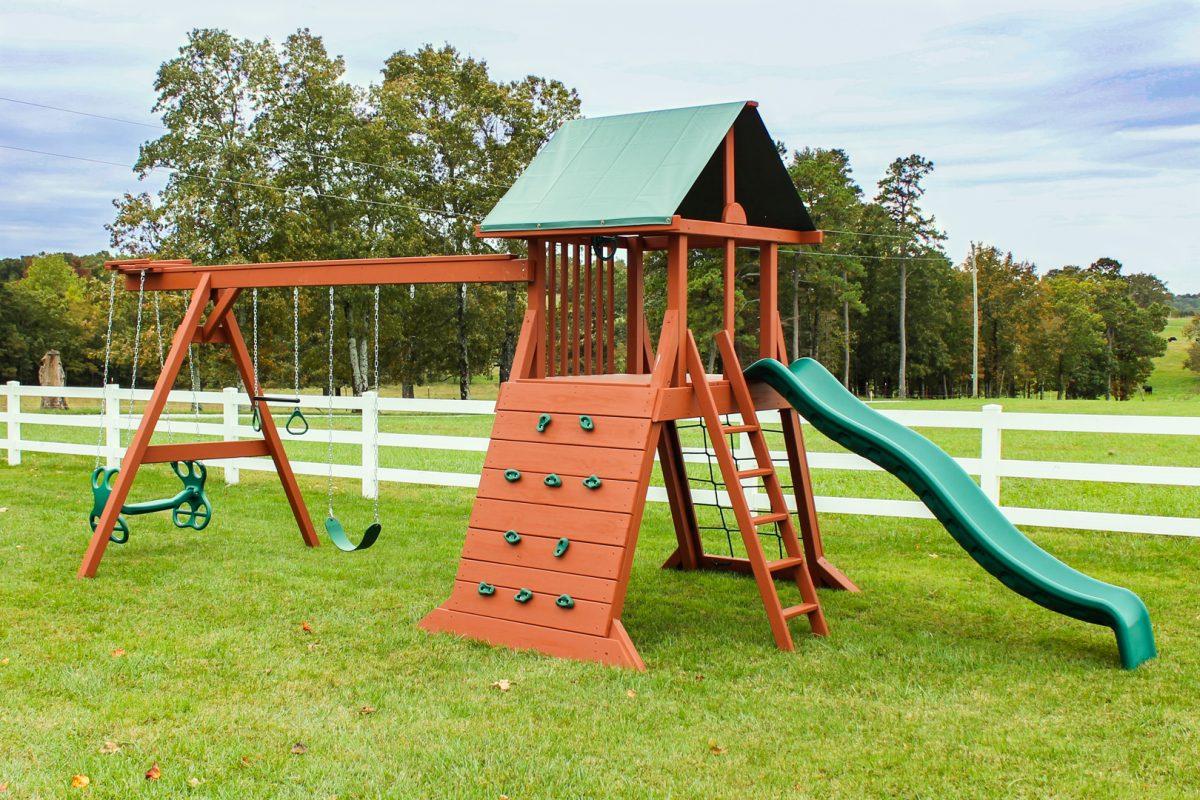 outdoor swing set for sale in arkansas