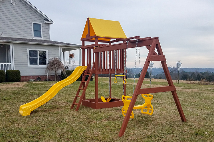 wooden playsets for sale in arkansas