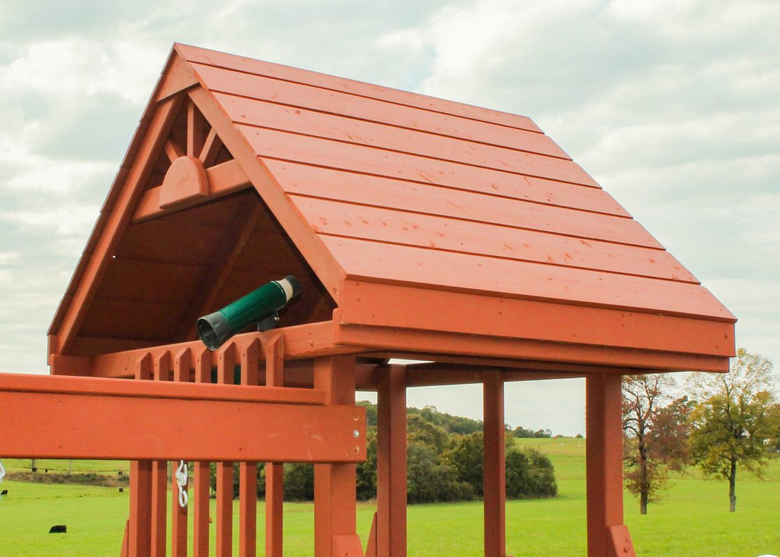 custom playset options Cedar Roof