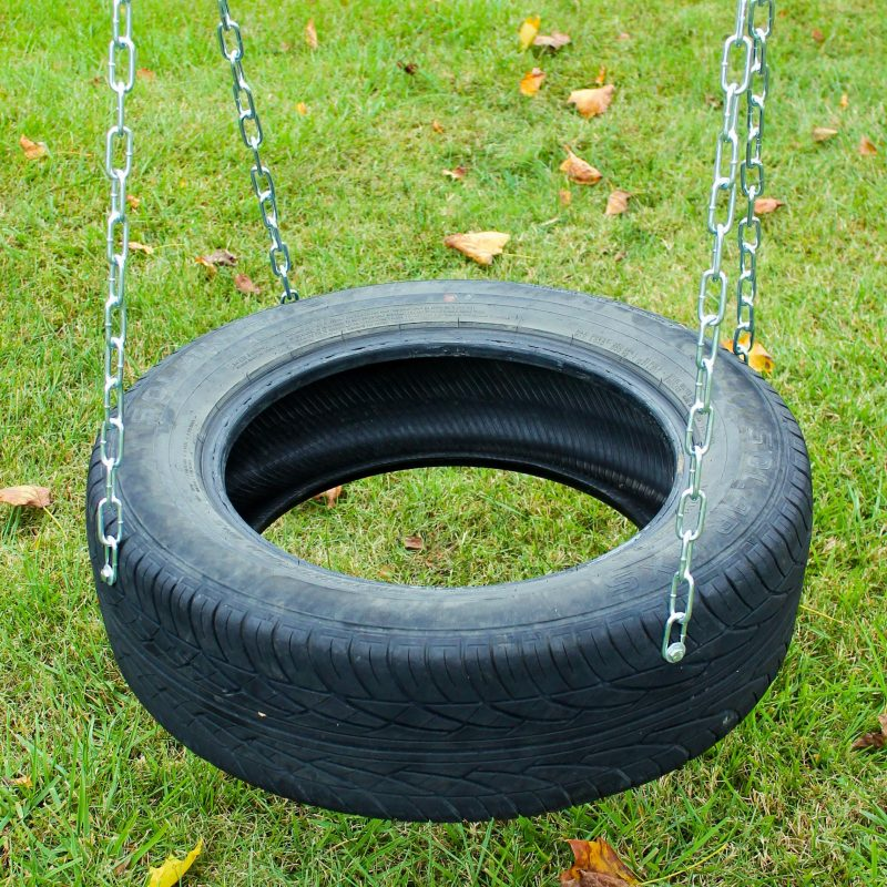 custom playset options tire swing
