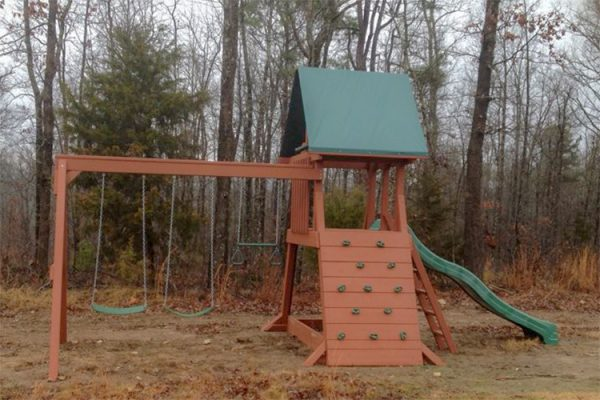 wooden playset heber springs ar
