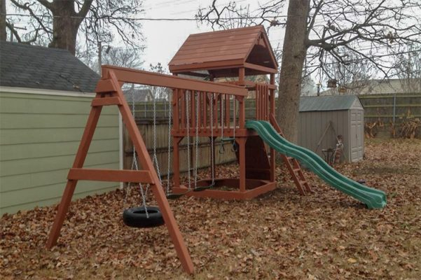 backyard swing sets swingset arkansas