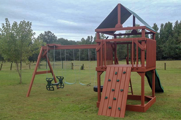 backyard swing sets swingset drasco ar