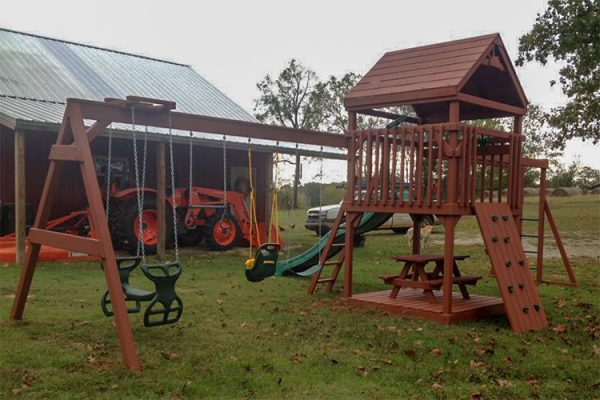 backyard swing sets swingset floral ar