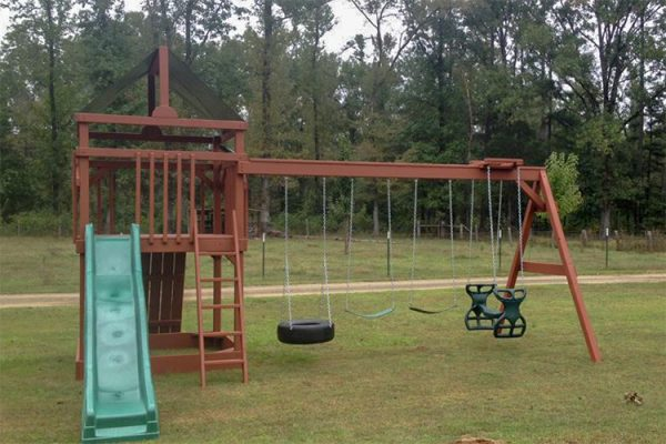 backyard swing sets swingset mountain view ar