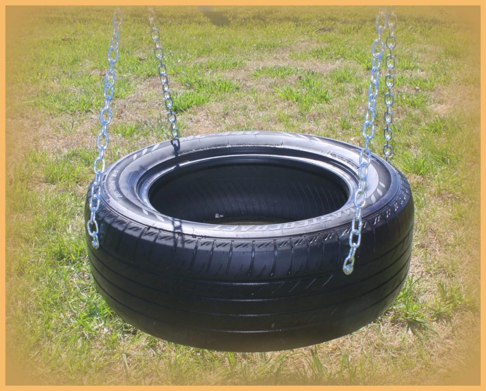 custom playsets tire swing
