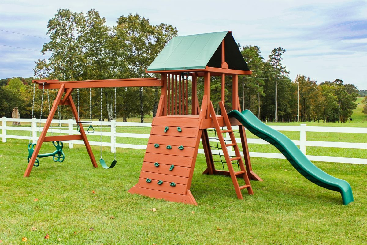 climbing tower outdoor playsets