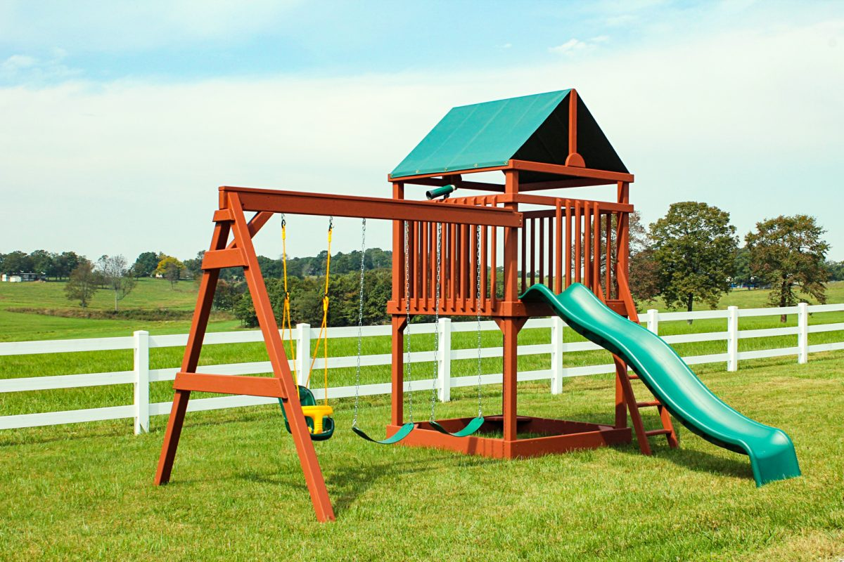 tower outdoor playsets in arkansas