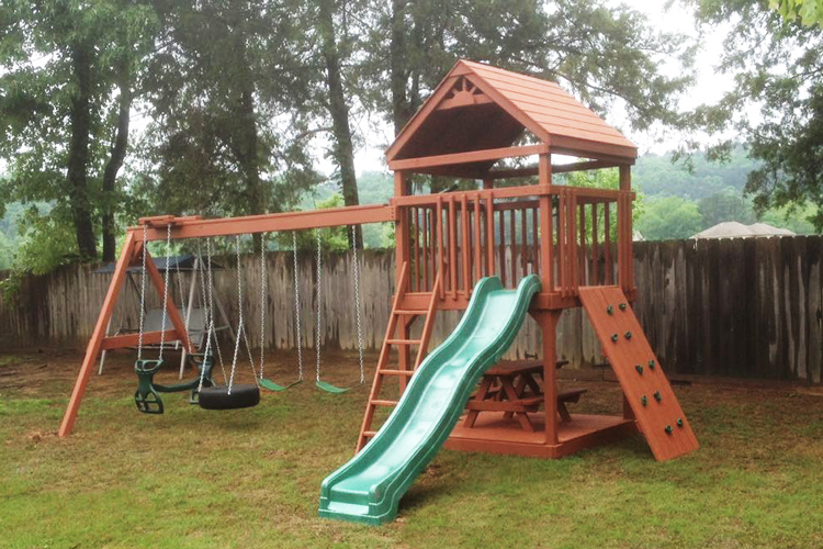 wooden playsets for sale